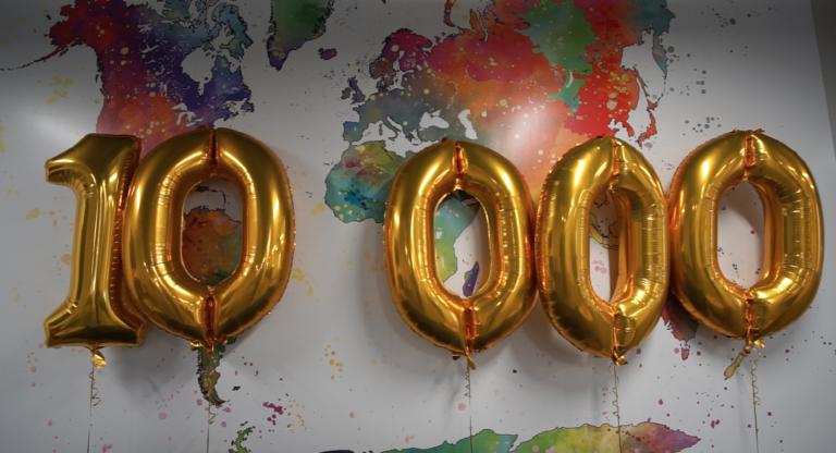 10,000 properties