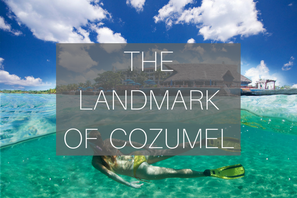 landmark of cozumel